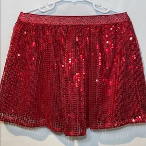 Children's Place Other - Red Sequin Skirt size S (5-6)